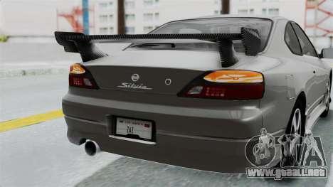 Nissan Silvia S15 Spec-R 2000 para la vista superior GTA San Andreas