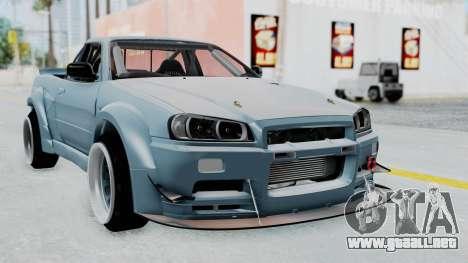 Nissan Skyline R34 PickUp para GTA San Andreas