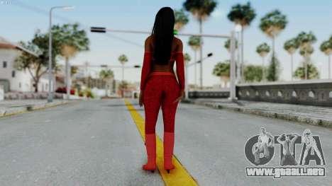 WWE Naomy para GTA San Andreas tercera pantalla