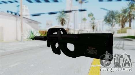 P90 Green para GTA San Andreas segunda pantalla