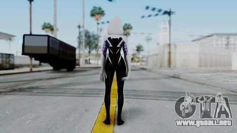Marvel Future Fight Spider Gwen v2 para GTA San Andreas tercera pantalla