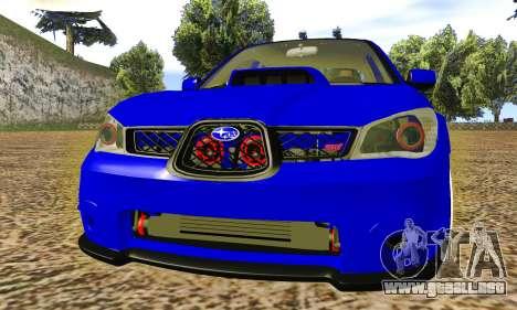 Subaru Impreza WRX STI Lisa para GTA San Andreas