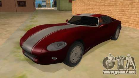 HD Banshee update para GTA San Andreas