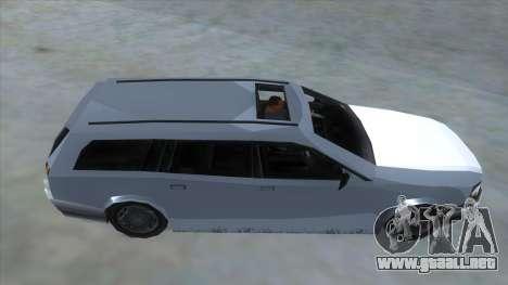 GTA LCS Sindacco Argento para visión interna GTA San Andreas