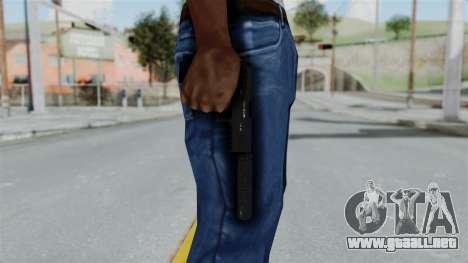 GTA 5 Combat Pistol para GTA San Andreas