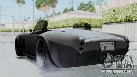GTA 5 Mamba para GTA San Andreas left