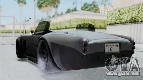 GTA 5 Mamba para GTA San Andreas left