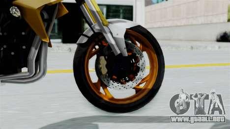 Honda CB1000R v2 para GTA San Andreas vista posterior izquierda