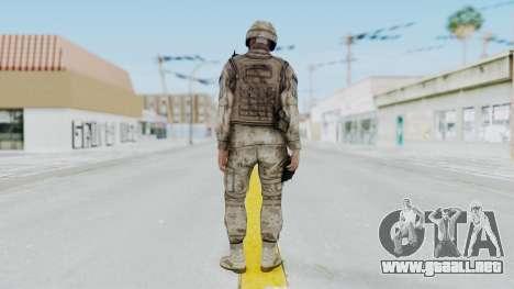 Crysis 2 US Soldier 1 Bodygroup A para GTA San Andreas tercera pantalla