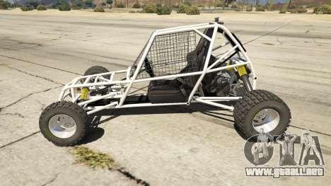GTA 5 Kart Cross vista lateral izquierda
