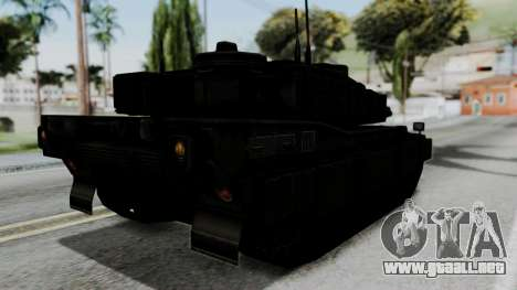 Point Blank Black Panther Woodland IVF para GTA San Andreas left