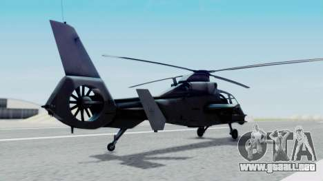 Harbin WZ-19 para GTA San Andreas left