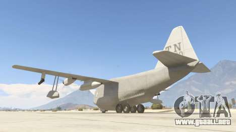 GTA 5 Amphibious Plane tercera captura de pantalla