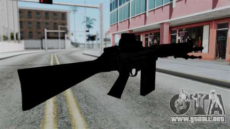 FN-FAL from CS GO with EoTech para GTA San Andreas segunda pantalla