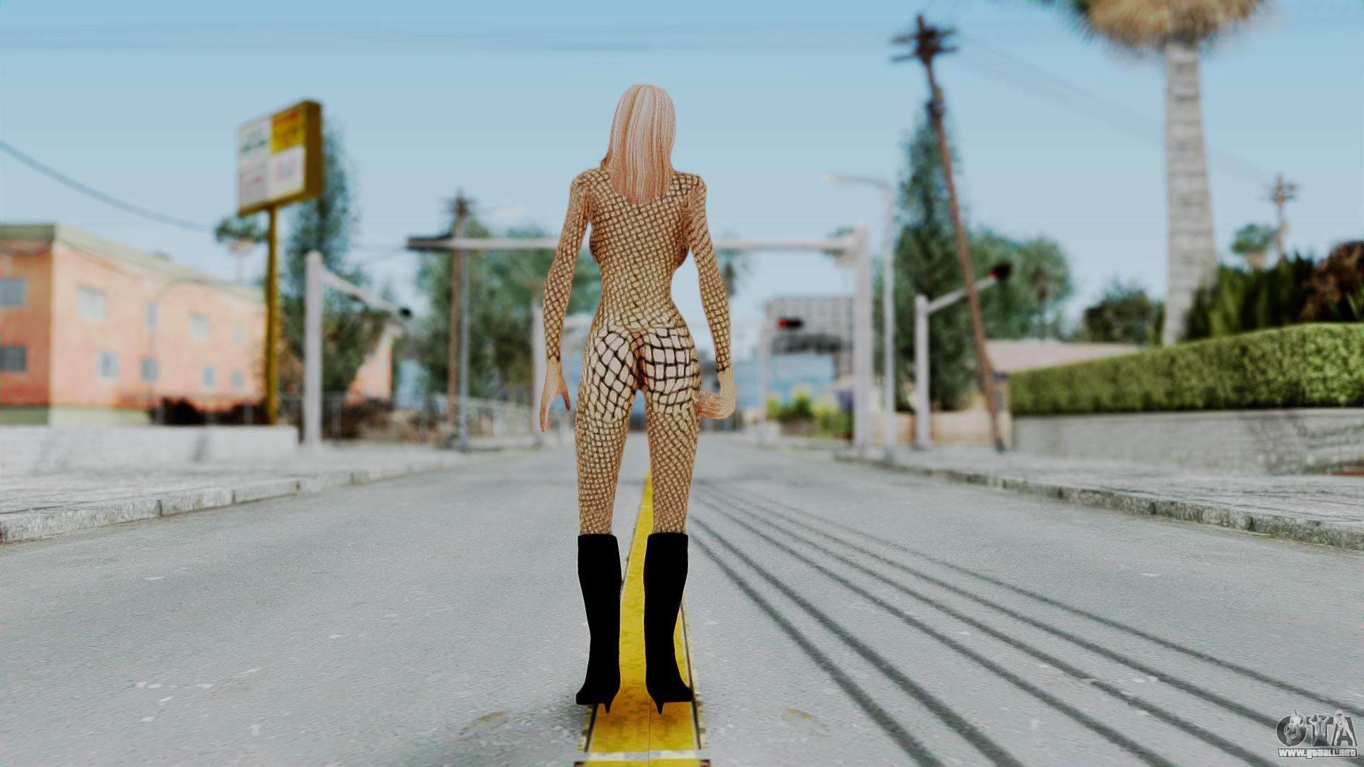 Party Girl Mesh for GTA San Andreas
