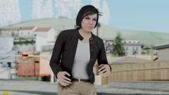 GTA 5 Karen Daniels Biker para GTA San Andreas