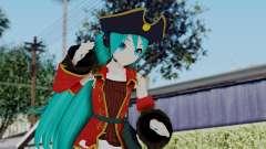 Hatsune Miku (Pirete) para GTA San Andreas