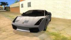 Lamborghini Gallardo 2012 Edition para GTA San Andreas