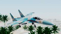 SU-37 Indian Air Force para GTA San Andreas