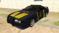 Elegy NR32 Police Edition Grey Patrol para GTA San Andreas