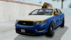 GTA 5 Vapid Stanier Ⅲ (Interceptor) Taxi para GTA San Andreas
