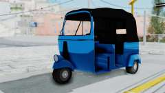 Sri Lanka Three Wheeler (Rickshow) para GTA San Andreas