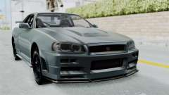 Nissan Skyline GT-R R34 2002 F&F4