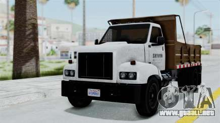 GTA 5 Tipper Second Generation para GTA San Andreas