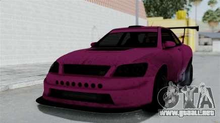 GTA 5 Karin Sultan RS Drift Double Spoiler para GTA San Andreas