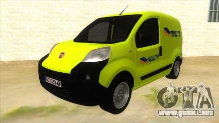Fiat Fiorino de color amarillo para GTA San Andreas