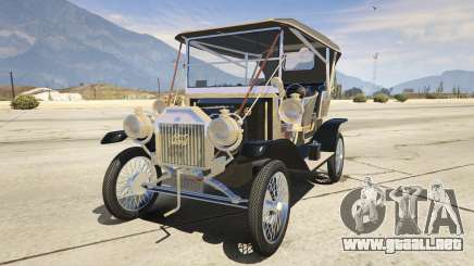 Ford T 1910 Passenger Open Touring Car para GTA 5
