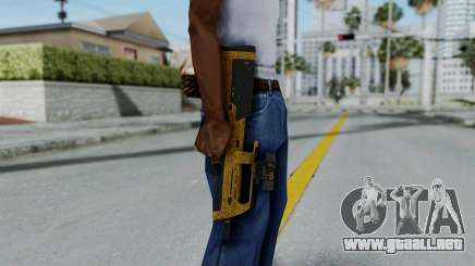 GTA 5 Online Lowriders DLC Assault SMG para GTA San Andreas