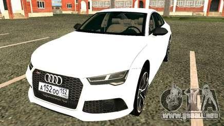 Audi RS7 Quattro para GTA San Andreas