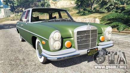 Mercedes-Benz 300SEL 6.3 1972 para GTA 5