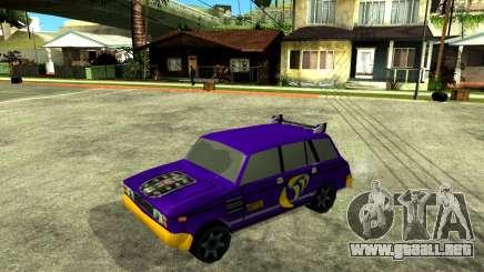 VAZ 2104 WRC para GTA San Andreas