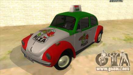 Volkswagen Beetle Pizza para GTA San Andreas