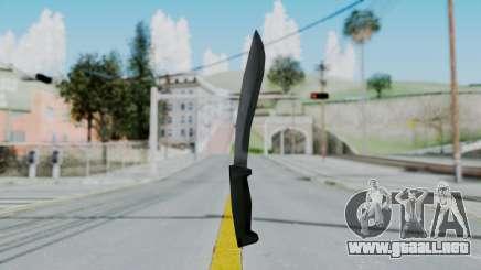 Vice City Knife para GTA San Andreas