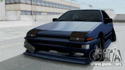 Toyota AE86 Trueno Hella para GTA San Andreas