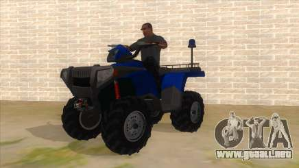 ATV Polaris Police para GTA San Andreas