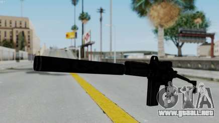 9A-91 Kobra and Suppressor para GTA San Andreas