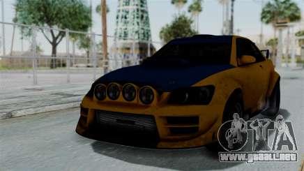 GTA 5 Karin Sultan RS Rally PJ para GTA San Andreas