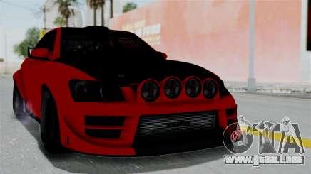 GTA 5 Karin Sultan RS Rally para GTA San Andreas
