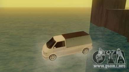 Volkswagen T4 Caravelle 35 Taza (1997) [Вездеход] para GTA San Andreas