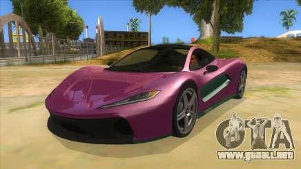 GTA 5 Progen T20 Styled version para GTA San Andreas