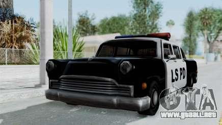 Police Cabbie para GTA San Andreas