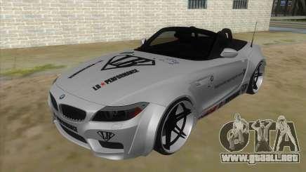 BMW Z4 Liberty Walk Performance Livery para GTA San Andreas