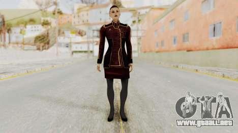 Mass Effect 3 Jack Official Skirt para GTA San Andreas segunda pantalla