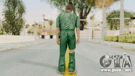 Manhunt 2 - Danny Prison Outfit para GTA San Andreas tercera pantalla