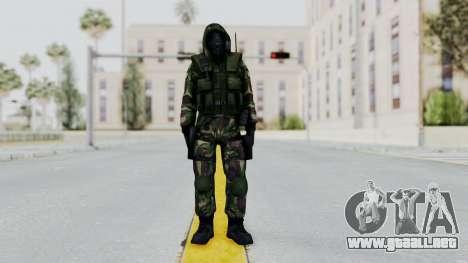 Hodeed SAS 4 para GTA San Andreas segunda pantalla