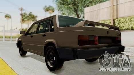 Volvo 740 para GTA San Andreas vista posterior izquierda